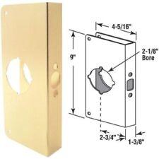 """Entry Lockset Door Repair Cover Brass, 2-3/4"""" Backset, 1-3/8"""" Door Thickness"""
