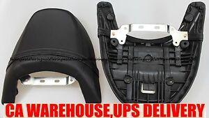 Rear Seat Passenger Pillion for Suzuki Boulevard M109R VZR 1800 Intruder Black
