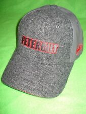Peterbilt Black hat w// Checkered Tile pattern on bill new cap w//tag Logo Black