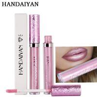 HANDAIYAN Hot Sexy lip gloss liquid metal lipstick lasting waterproof matte lips