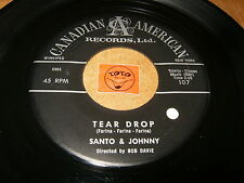 SANTO & JOHNNY - TEAR DROP - THE LONG WALK HOME  / LISTEN - BALLAD SURF