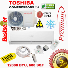 12000 Btu Air Conditioner Mini Split 16.9 Seer Ac Ductless Only Cold 220V