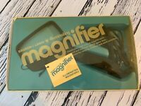 Vintage Bausch & Lomb Illuminating Magnifier In Original Box