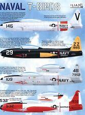 Naval T Birds: Lockheed Tv-2 T-33 in Us Navy, Marines (1/48 decals, Iliad 48026)