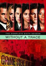 WITHOUT A TRACE: COMPLETE SIXTH SEASON 6 -  Region Free DVD - Sealed