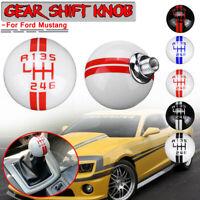 6 velocidad manual Palanca palanca Perilla de cambio universal para Ford Mustang