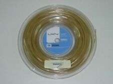 * Nuovo * Luxilon ORIGINALE 1.30mm TENNIS saitenset 12m String Power ALU IG Big 16 G