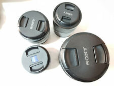 Sony FE 55mm f1.8, 18-105 mm E PZ f/4 Zeiss Loxia 50mm f/2, 10-18mm f/4