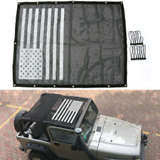 Full Mesh Sun Shade Roof Bikini Top Cover Net For Jeep Wrangler TJ Accessories