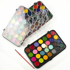 Water Colour Paints And Brush Set of 28 Colors Kids Art Craft Artist Box Case
