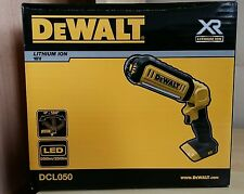 New DEWALT DCL050-XJ 20 Volts MAX* Hand Held Jobsite LED Light