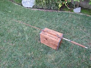 Vintage Custom Built Tycoon HRH Fishing Rod Miami USA