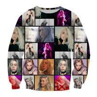 Hot Billie Eilish 3D Print casual Mens Womens Sweatshirt Pullover Hoodies Tops