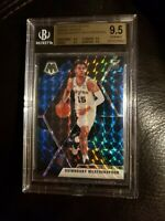 2019-20 Panini Mosaic QUINNDARY WEATHERSPOON SSP Blue GENESIS Spurs RC BGS 9.5