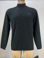Under Armour Mens Coldgear Infared 1/4 Zip Survival Fleece Shirt Black S 1259826
