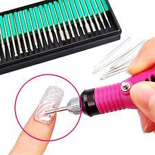 Kit 30x Embouts de Ponceuse Electrique Ongle Manucure Pédicure Nail Drill Bits N