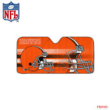 Brand New NFL Cleveland Browns Car Truck Sun Shade Large Size