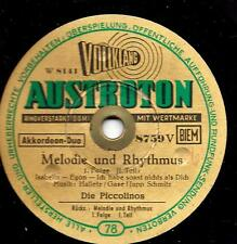DIE PICCOLINOS, Akkordeon-Duo :  Melodie und Rhythmus - 1. Folge