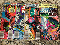 STAR WARS Run #55 56 57 58 59  NEWSSTAND LOT 1977 MARVEL 1st Prints!