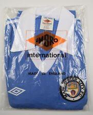 1975-1976 MANCHESTER CITY UMBRO HOME FOOTBALL SHIRT (SIZE Y) - BNIB