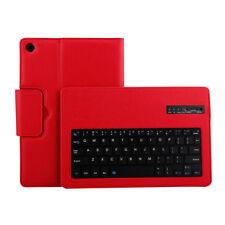 BT-Tastatur Tasche für Huawei MediaPad M5 10.8 Pro Tablet Synthetisches Leder RD