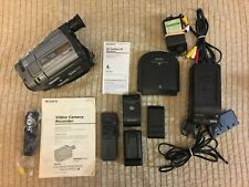 Sony Handycam Ccd-Trv52 8mm Analog Camcorder and Accessories