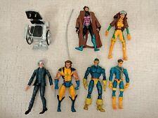 Toy Biz X-Men lot Cyclops Gambit Rogue Wolverine professor X marvel legends