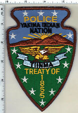 Yakima Indian Nation Police (Washington) - Shoulder Patch from the 1980's