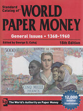 KRAUSE - WORLD PAPER MONEY - GEN'L ISSUES 1368-1960 - FREE SHIPPING  KP-WPMG15