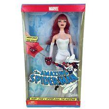 BARBIE Amazing Spider-Man MARY JANE WATSON 2005 Marvel Mattel J0870 Wedding Gown