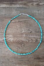 Navajo Hand Strung Turquoise Necklace by Doreen Jake