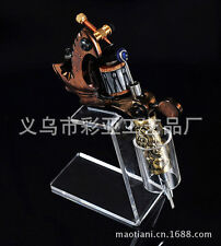 Brand New Tattoo Accessory Easy Tool Clear Machine Stand Holder Combination