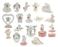 Cherub Ornament Tealight Holder Oil Burner Figurine Heart Gift Angel Collectable