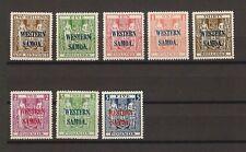 SAMOA 1945/53 SG207/14 MNH Cat £1325 . CERT