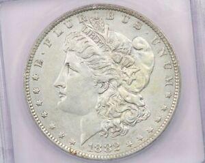 1882-O/S 1882 Morgan Silver Dollar VAM-3 TOP 100 EDS ICG AU 53
