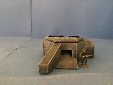 15mm Scale Wargaming Terrain Atlantic Wall Machine Gun Bunker