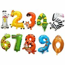Unbranded Birthday, Child Animals Party Foil Balloons
