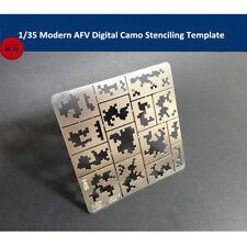 1/35 Modern AFV Digital Camo Stenciling Template Model Building Tool AJ0014