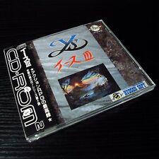 Ys III NEC PC Engine CD-Rom JAPAN Version W/OBI Japan Game #100-4