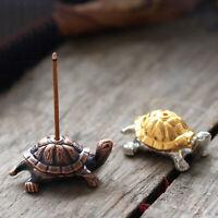 Snail Turtle Incense Stick Holder Censer Stand Culture Meditation Decor Surprise