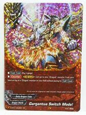 Bushiroad Future Card Buddyfight Gargantua Switch Mode! S-BT01/0009EN RR N-Mint