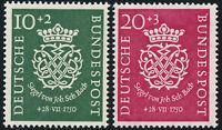BUND 1950, MiNr. 121-122, 121-22, tadellos postfrisch, gepr. Schlegel, Mi. 110,-