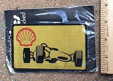 Nip Shell Oil Gas Motor Racing Souvenir Adhesive Backed Patch