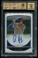 2013 Bowman Chrome Aaron Judge Rookie Pristine BGS 10 Auto 10 RC 9.5 Gem Corners