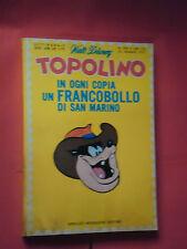 WALT DISNEY- TOPOLINO libretto- n° 808 b - originale mondadori- anni 60/70