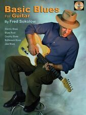 Basic Blues for Guitar - Book CD Pack Guitar Book and CD NEW 000695011