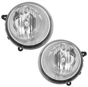 Front Headlights Pair Set for 07-10 Jeep Compass/07-16 Patriot Left & Right