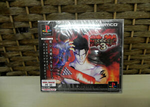 PS1 PS Tekken 3 Brand New Sealed Rare Playstation Case crack New unopened JAPAN