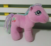 MY LITTLE PONY PLUSH TOY SWEETBERRY CHARACTER TOY 2004 HASBRO PINK MLP 22CM TALL
