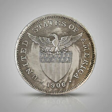 1906 Philippine Goddess of Liberty Silver Dollar Retro Memorial Coin Old Gift